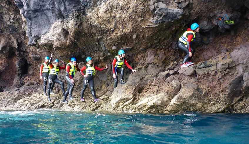 Coasteering near Funchal
