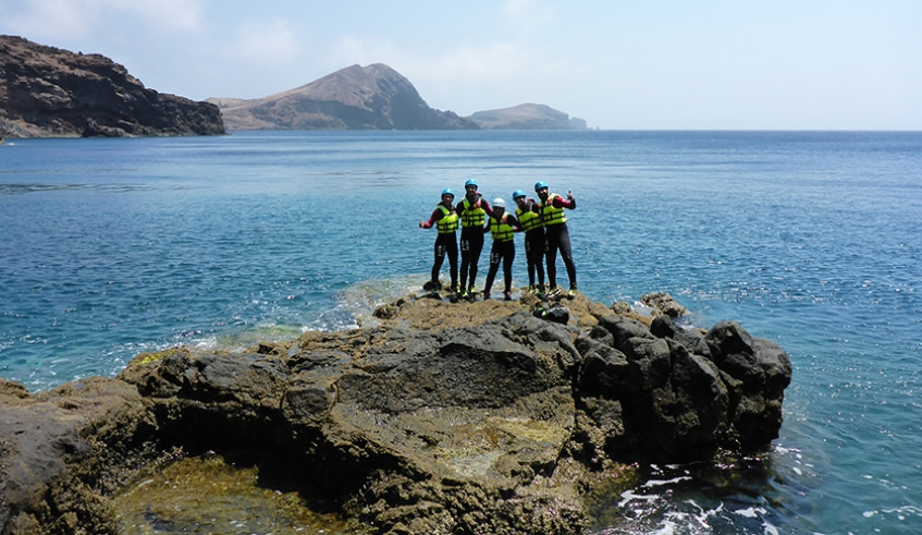 Coasteering Group - Madeira