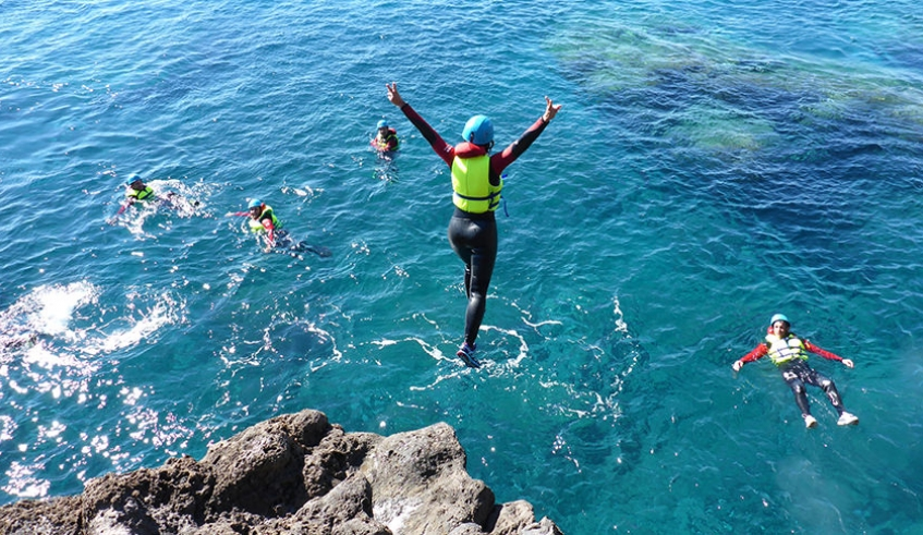Coasteering Fun - Madeira
