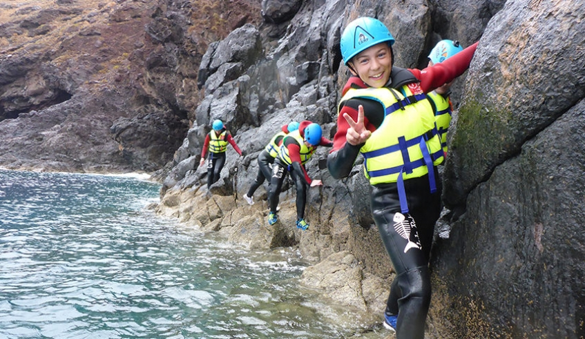 Coasteering in Madeira Island