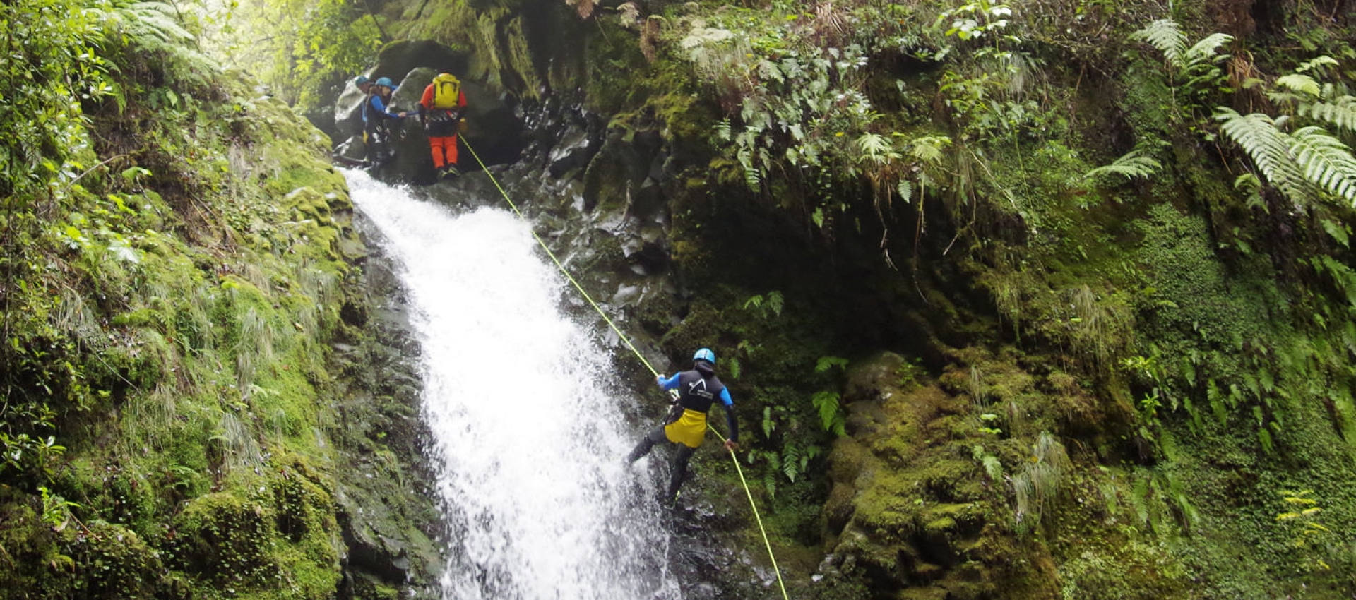 Canyoning on Madeira Island