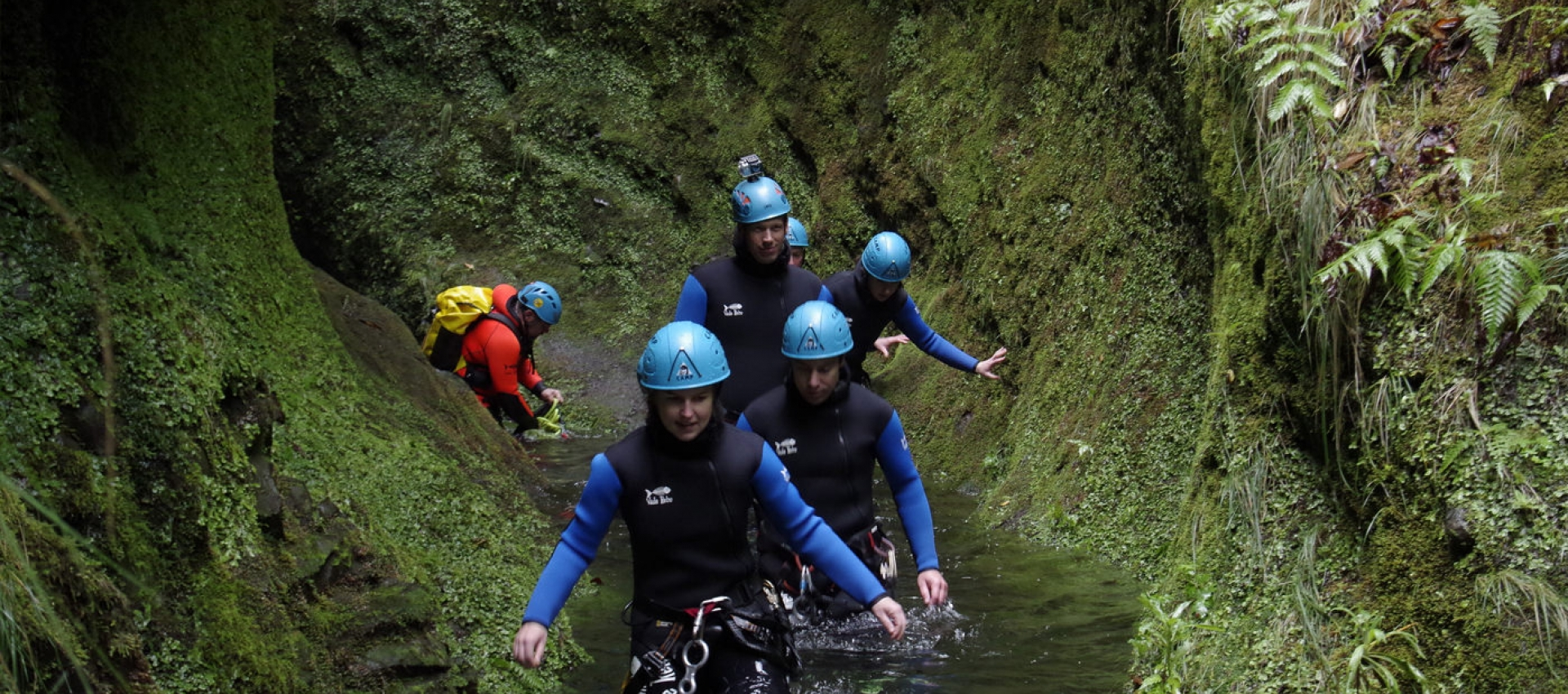 Canyoning on the north coast of Madeira