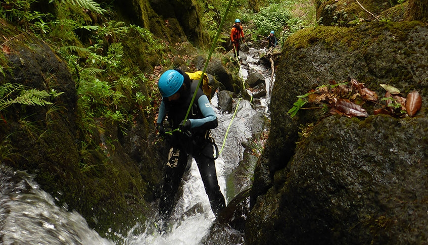 Advanced Canyoning in Madeira