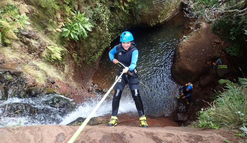 Canyoning Beginners Tour By Harmony In Nature In Madeira Island