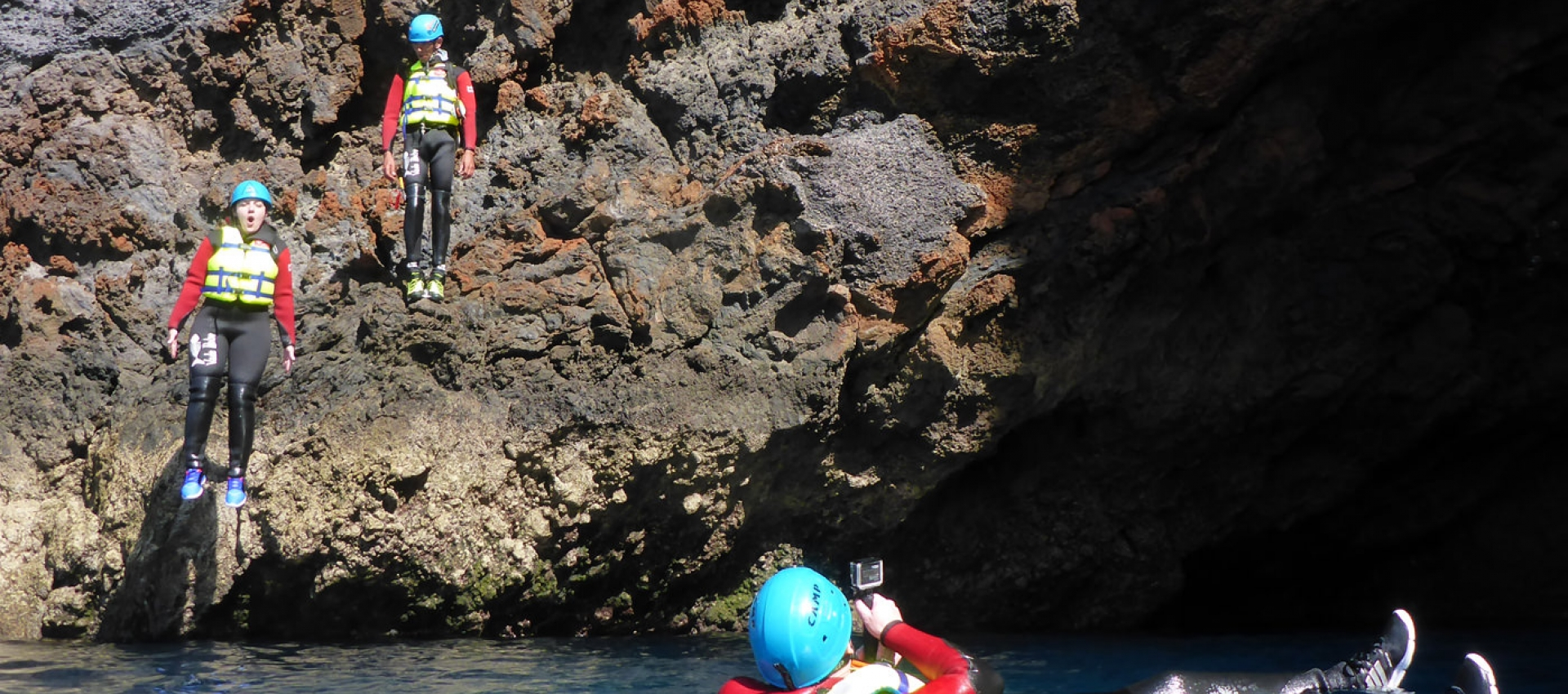 Coasteering course on Madeira