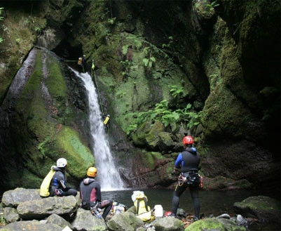 Madeira Canyoning Training Course